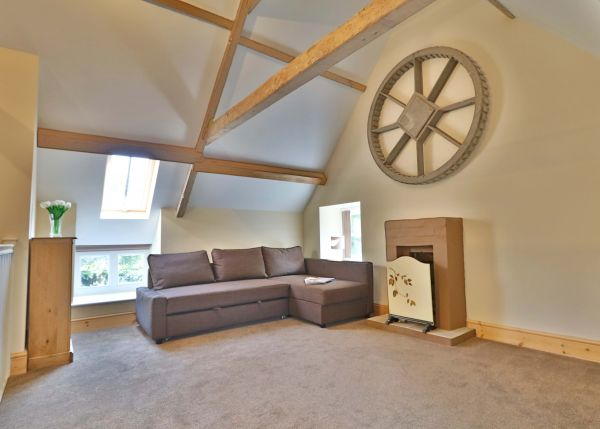 1 Coquet Lodge, Warkworth, living room