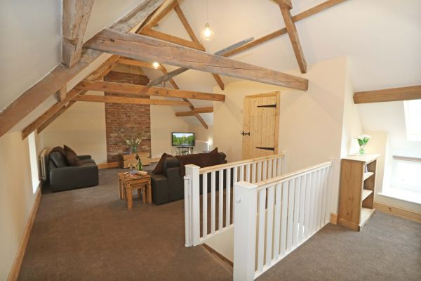 1 Coquet Lodge, Warkworth, lounge area