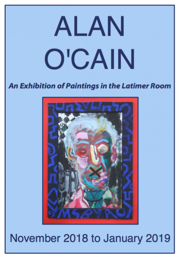 Alan O'Cain art exhibition