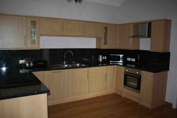 Inside Grooms Kitchen