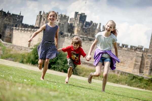 Family days out at Alnwick Castle