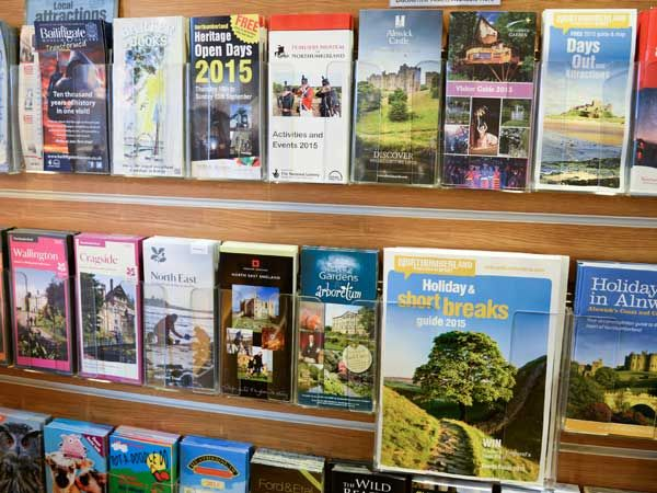 Brochures and leaflets available
