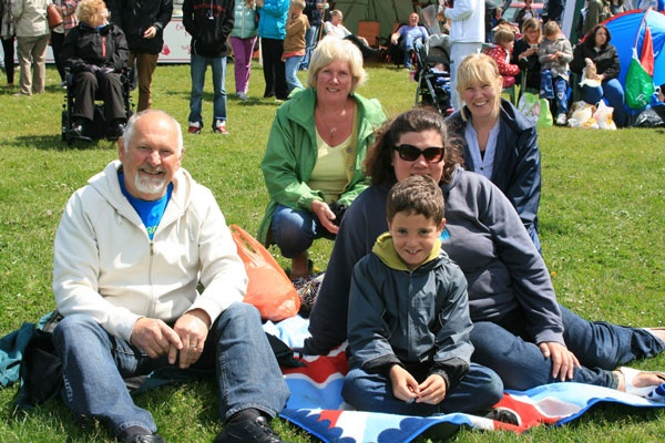 family at Puffin Festival