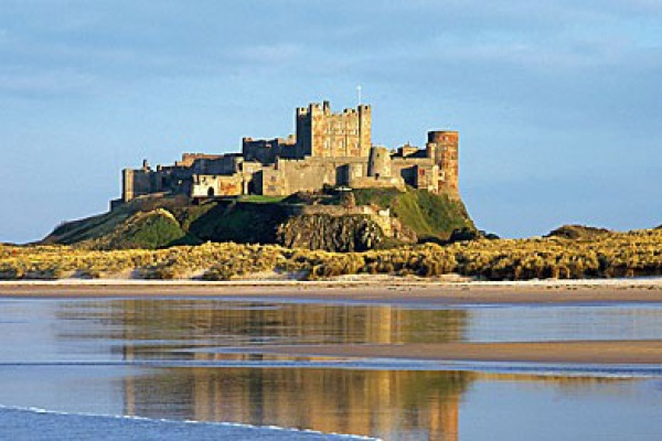 Bamburgh Castle exterior is near Bamburgh Castle Inn