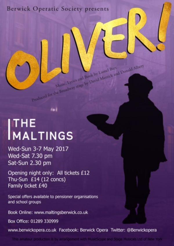 Berwick Operatic Society: Oliver!