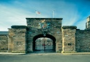 Outside Berwick-upon-Tweed Barracks & Main Guard