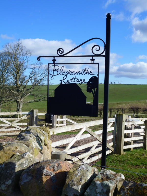 Blacksmiths Cottage Sign