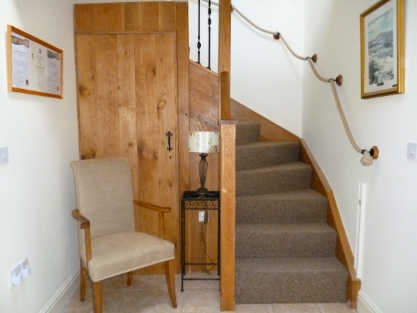 Oak panelled Hall & Staircase