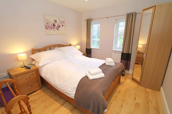 Blue Barn, Bamburgh - double bedroom