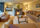 Living room is near Alnwick Castle