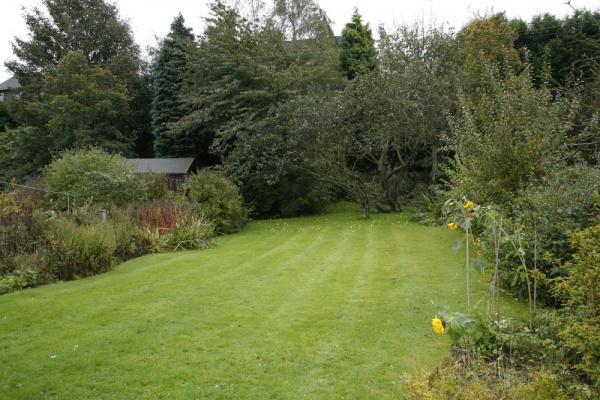 Braemar back garden