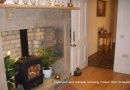 Inglenook fireplace is near Alnwick Easter Market