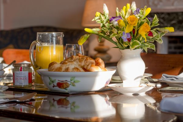 Breakfast, Budle Hall, Bamburgh