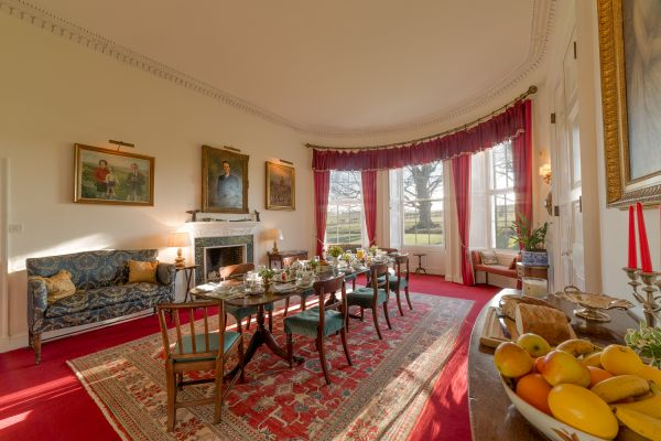 Breakfast Room, Budle Hall, Bamburgh