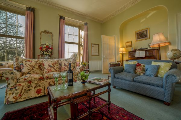 Guest Sitting Room, Budle Hall, Bamburgh