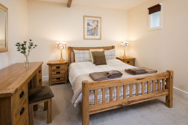 The Granary master bedroom