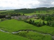 Aerial View of Burnfoot Holida Cottages