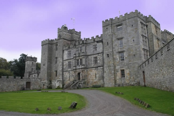 Outside Chillingham Castle