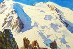 Mont Blanc & Manganese Blue