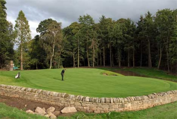 Golf course at Close House Hotel is near Corbridge Tourist Information Centre