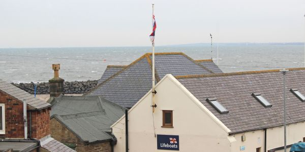 Coble Cottage, sea view from single bedroom