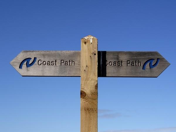 Northumberland Coastal Path Signage