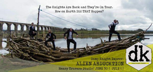 Damp Knight Improv: Alien Abducktion