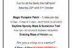 Daytime Halloween Maze and Puzzles
