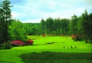 Golf course at Slaley Hall Hotel is near The Northumbrian Antiques and Collectors Fair