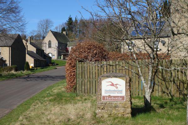 Harbottle village