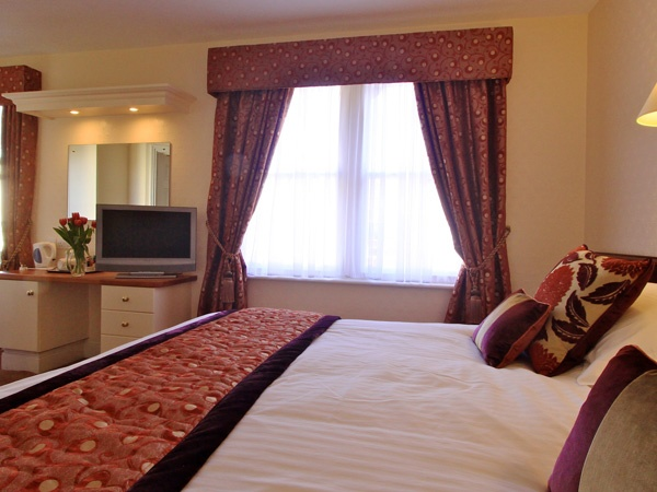 bedrooms in Dunstanburgh Castle Hotel