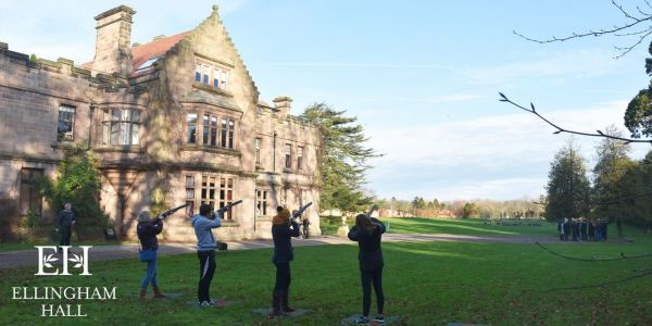 Ellingham Hall Fathers Day Laser Clay Experience