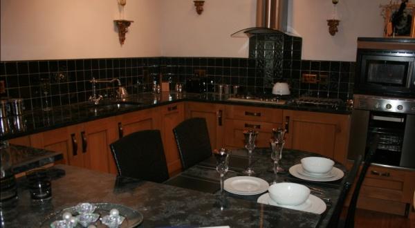 Versace glamour kitchen