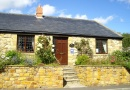 Outside Fellside Cottage is near The Tower Inn and Stable Bar - Otterburn Tower Country House Hotel and Restaurant