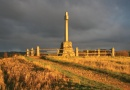 Flodden Battlefield Memorial is near Weaving on a Brinkley loom