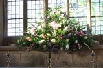 St Wilfrid's Church Flower Festival - display