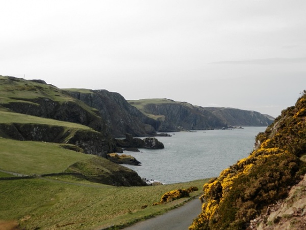 The Berwickshire Coast Path at St. Abbs
