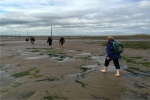 Walking the Pilgrims' Way to Lindisfarne is near River Breamish Caravan Club Site