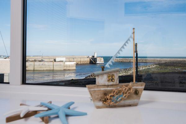 Harbourside double bedroom view