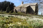 Haydon Old Church is near West Fell Cottage