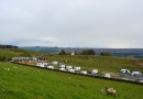 caravan pitches is near Housesteads Roman Fort