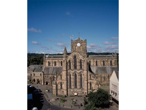 Arial View of Hexham Abbey is near The Duke of Wellington Inn