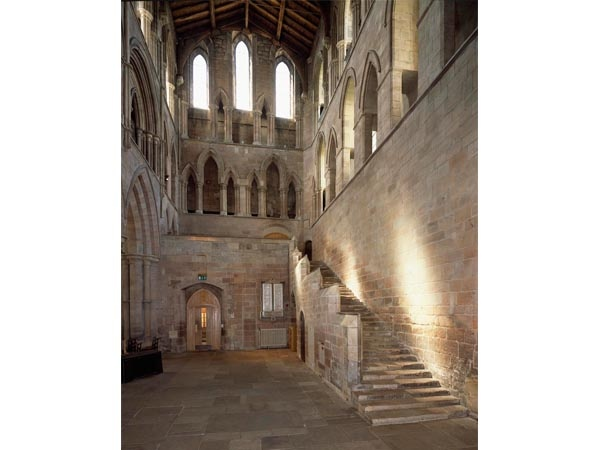 The Interior of Hexham Abbey
