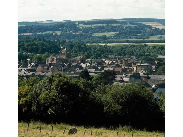 View over Hexham