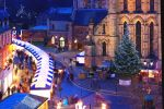 Hexham Christmas Market and Abbey Fair is near Stanegate Cottage
