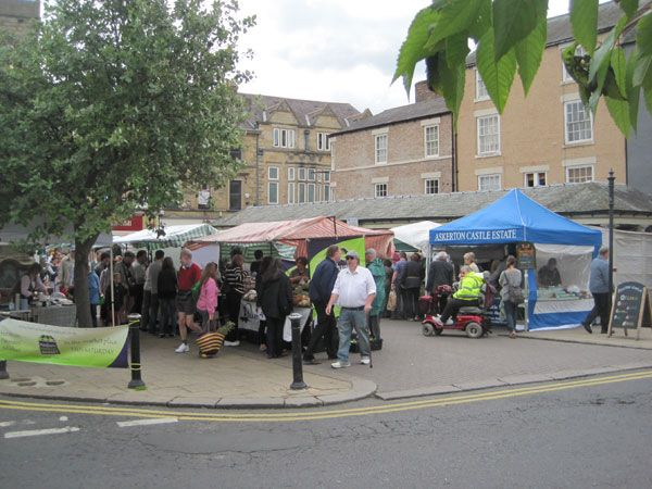 Hexham Farmers Market is near Coachmans and Stable Cottages