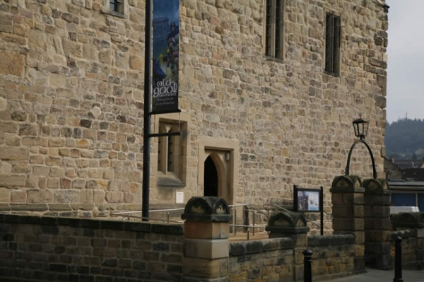 Outside Hexham Old Gaol