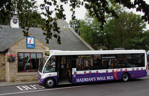Hadrians Wall AD122 Bus