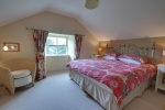Room 2, can be booked as Super King or Twin En-Suite