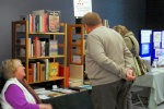 A book stall at the History Fair